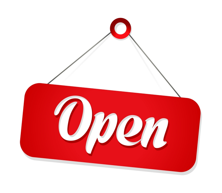 open-sign